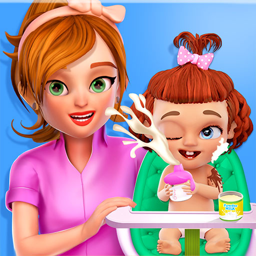 - Sweet Baby Newborn Girl Babysitter Life - Cleanup, Bath time, Daycare, Feed, Play & Summer Fun!