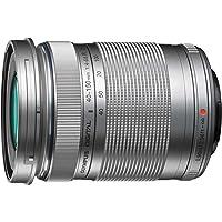 Olympus M.Zuiko Digital - Objetivo para micro cuatro tercios (distancia focal 40-150 mm, apertura f/4.0-5.6 R, zoom óptico 3.8x, diámetro 58 mm) color plata