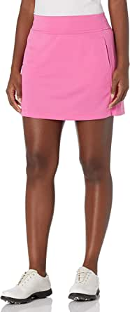 PGA TOUR Women's 16 Inch Airflux Dry-Fit Golf Skort with Tummy Control Waistband