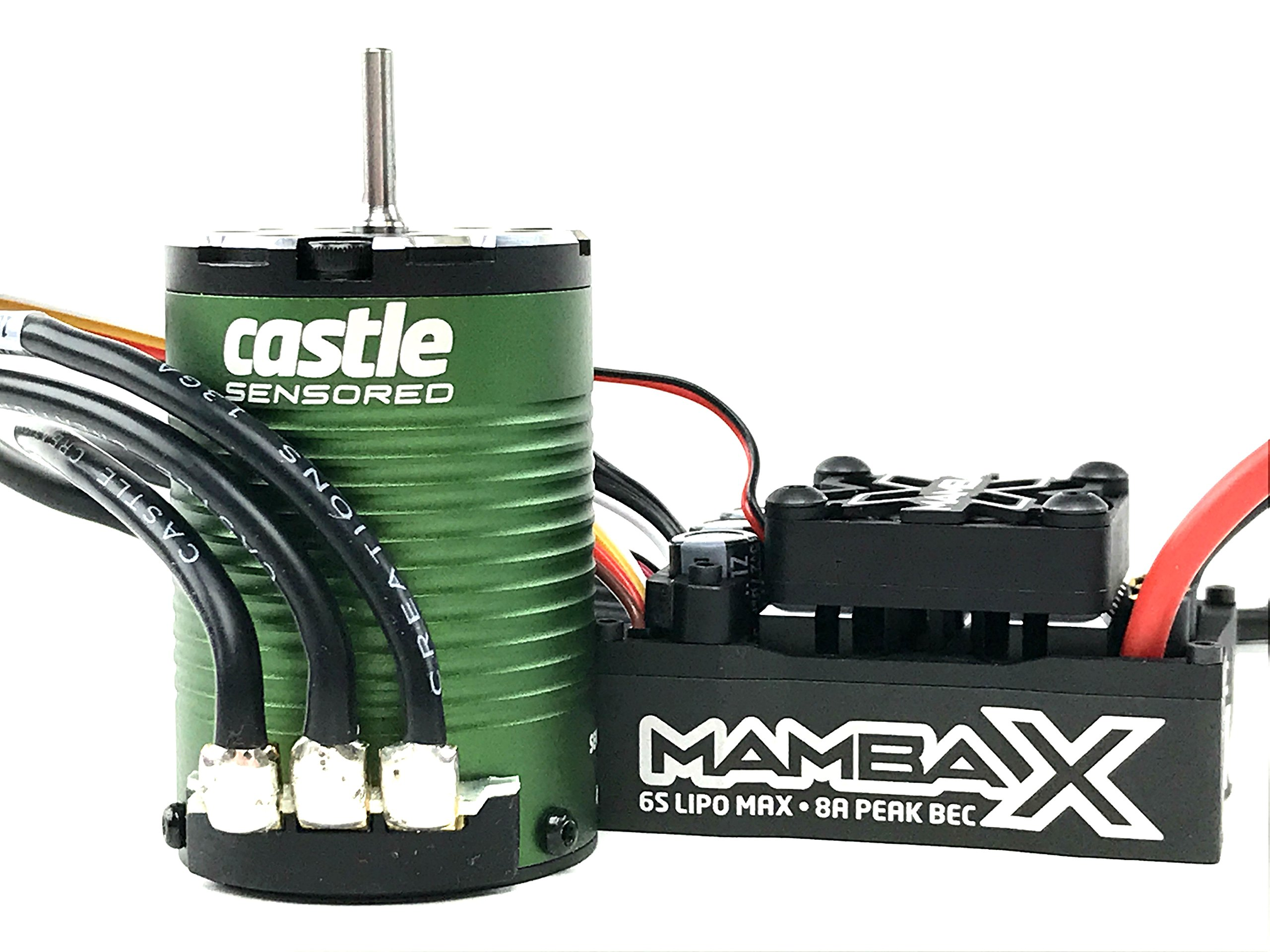 Castle Creations Mamba X SCT Pro Sensored 25.2V WP ESC & 1410-3800Kv Combo