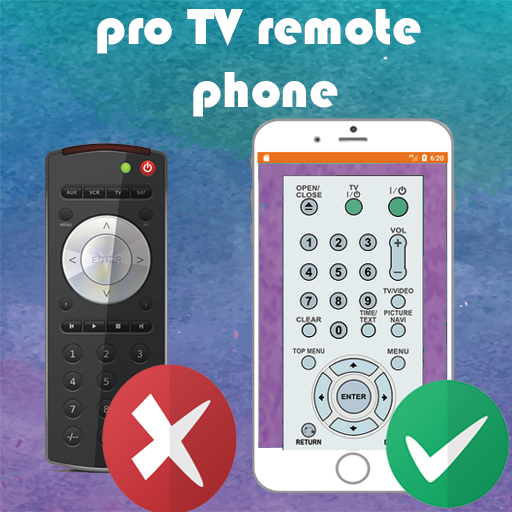 PRO TV remote control phone
