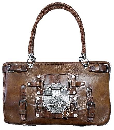 d06735ede65ac Trachtentasche Metzgertasche Tasche Handtasche Unikat orig.Satteltasche v.  1939 alte Ledertasche Damentasche Damenhandtasche zur