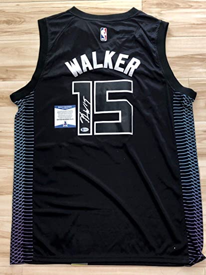 5a0f47f08d9d Kemba Walker Signed Jersey - Beckett BAS Cert - Beckett Authentication -  Autographed NBA Jerseys