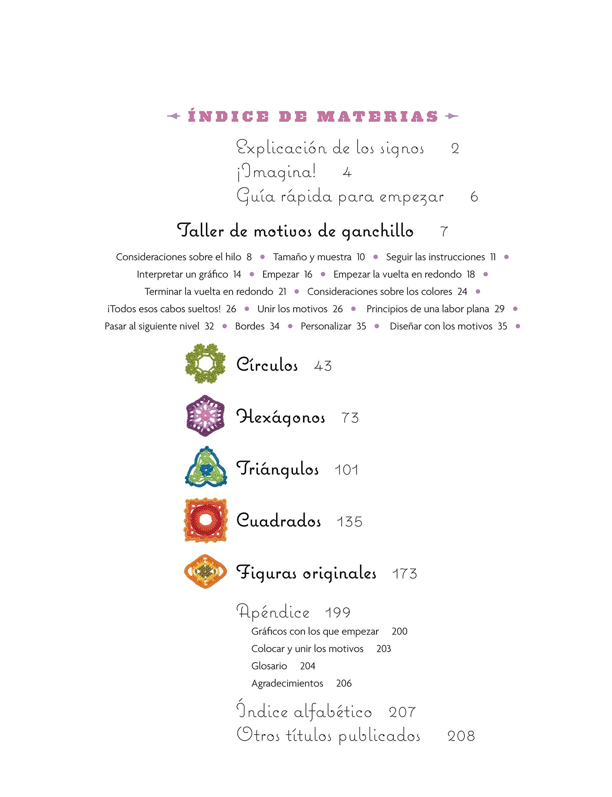 El Gran Libro De Motivos De Ganchillo (El Libro De..): Amazon.es ...