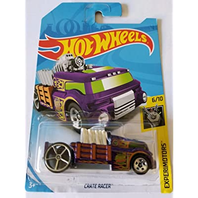 Hot Wheels 2020 Regular Treasure Hunt Experimotors 6/10 - Crate Racer: Toys & Games