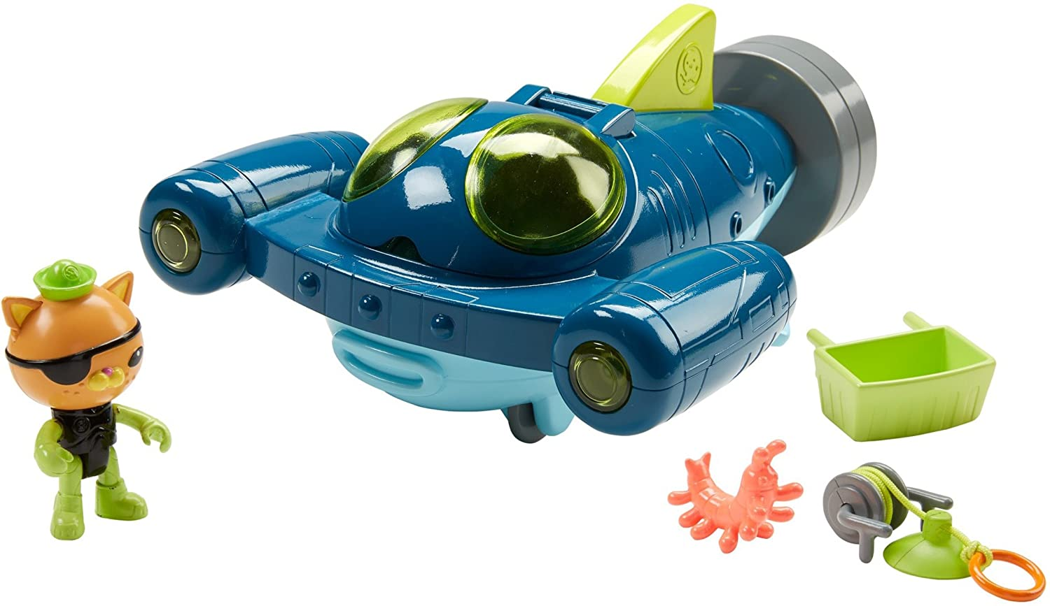 Fisher-Price Octonauts Gup-Q Undersea Explorer Mattel DTM04