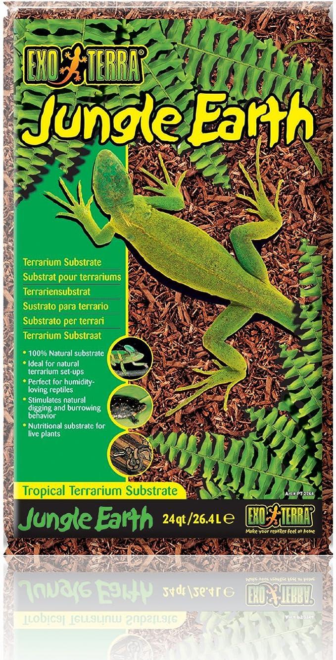 Exo Terra Sustrato Tropical JungleEarth -26,4L