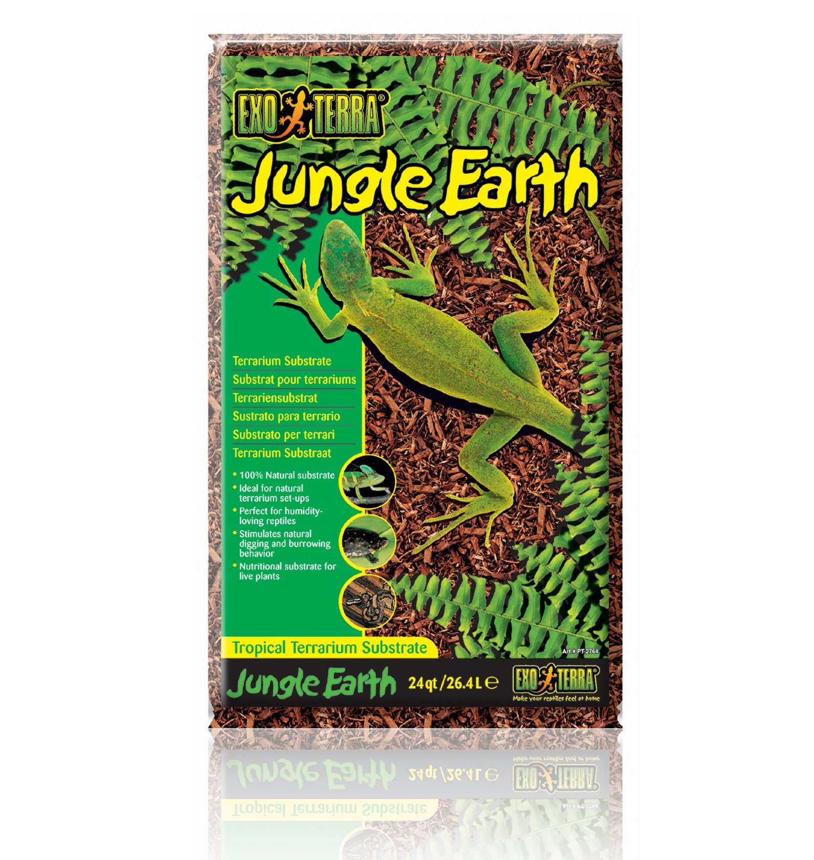 Exo Terra Exo Terra Jungle Earth Terrarium Substrate, 26.4 L (24 Qt) by Exo Terra