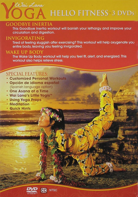 Amazon.com: Wai Lana Yoga: Hello Fitness Series: Wai Lana ...