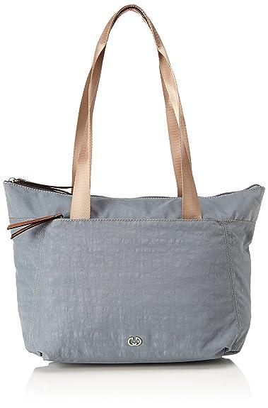 Damen Sunshine Handbag Mhz Schultertasche, Grau (Taupe), 12x37x25,5 cm Gerry Weber