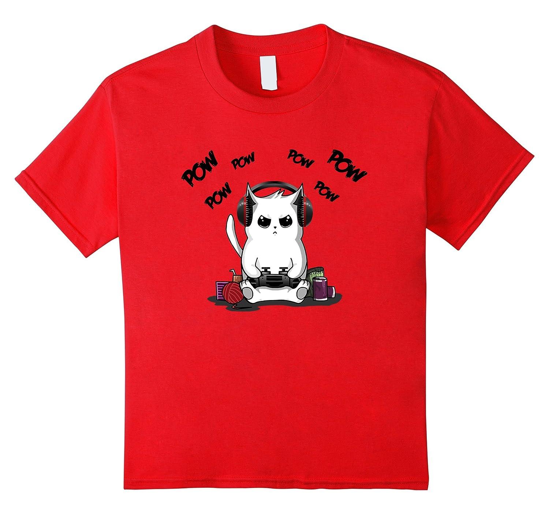 Gamer T Shirt Gaming Shirt Heather-Tovacu