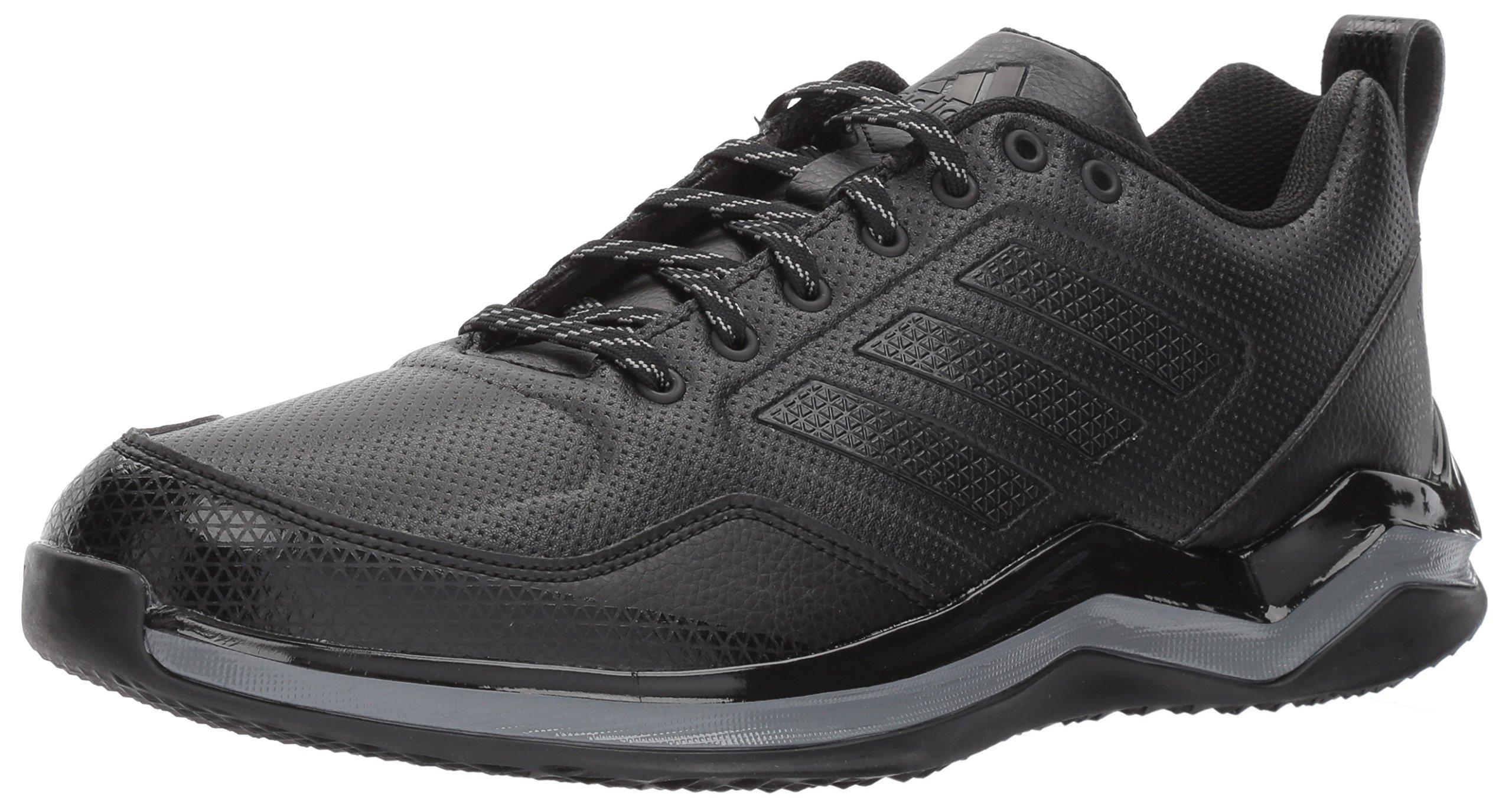 adidas Men's Freak X Carbon Mid Cross Trainer, Black/Black/Iron, 13 Medium US by adidas