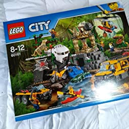LEGO City - Jungla: Área de Exploración (60161): Amazon.es ...