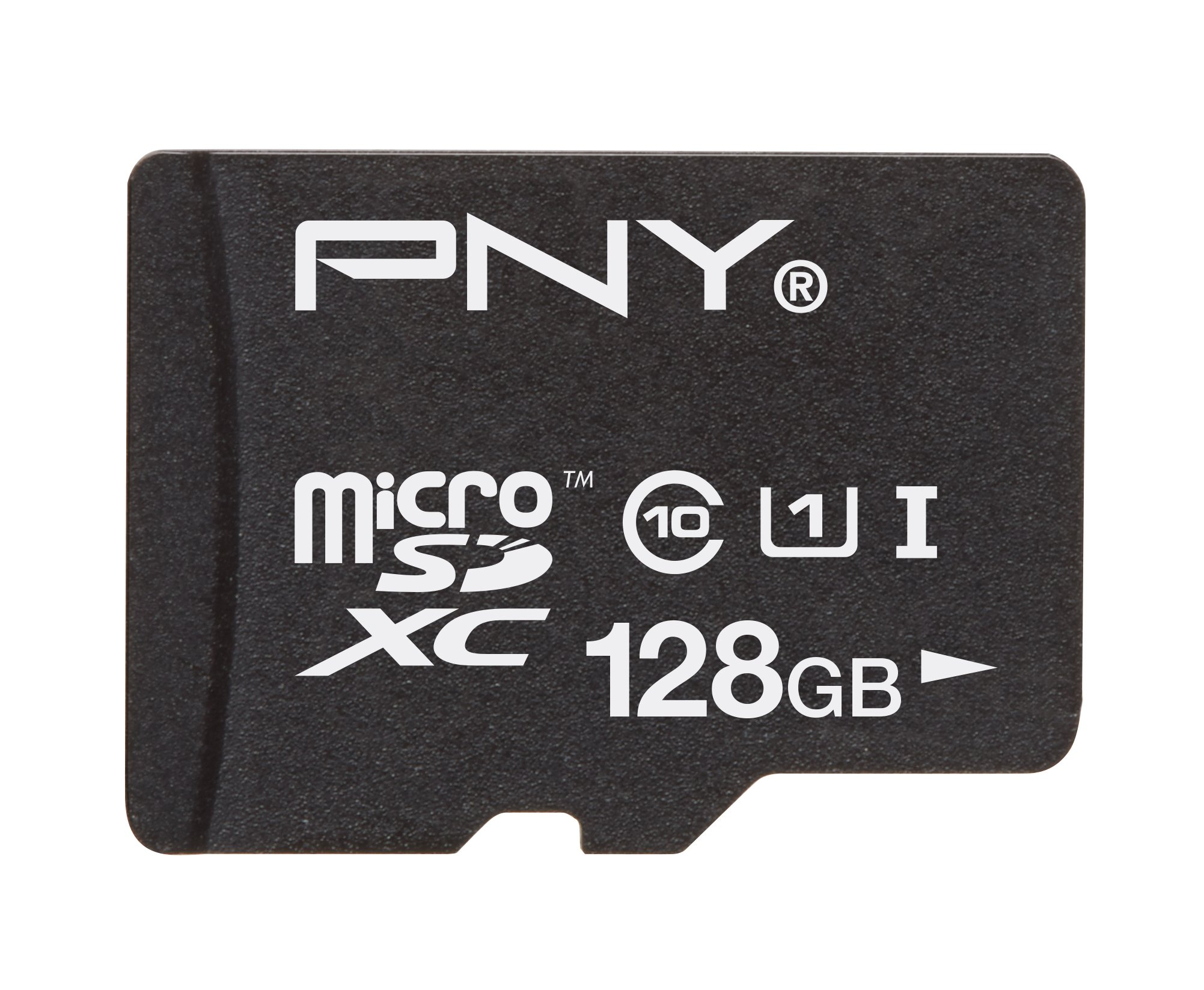 PNY High Performance 128GB High Speed microSDHC Class 10 UHS-1 up to 40MB/sec Flash Memory Card - P-SDUX128U1-GE (OLD MODEL)