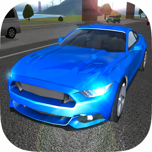 Muscle Car Driving Simulator]()