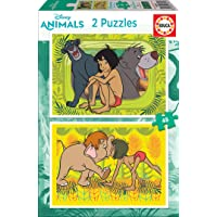 Educa - Jungle Book 2 Puzzles Infantiles de 48 Piezas, a Partir de 4 años (18641)