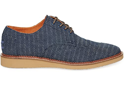 Toms Chaussures Gris Derbies Hommes Denim - Taille 42 2ZAjFuAT