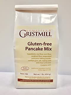 product image for Homestead Gristmill — Non-GMO, Chemical-Free, All-Natural, Gluten-Free Pancake Mix (2 Pack)