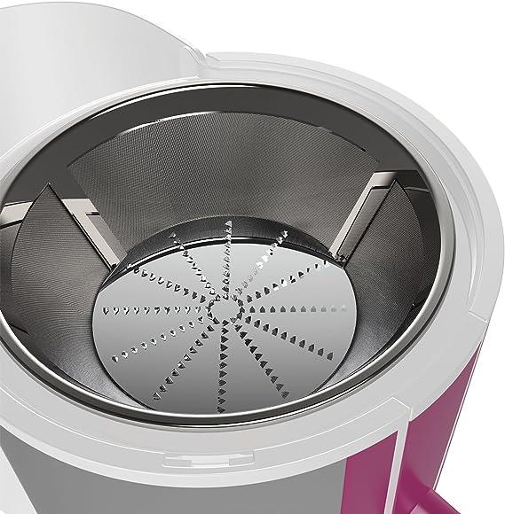 Imetec Wellness JE Licuadora, 400 W, 1 Liter, 2 Velocidades, Blanco y Violeta: Amazon.es: Hogar