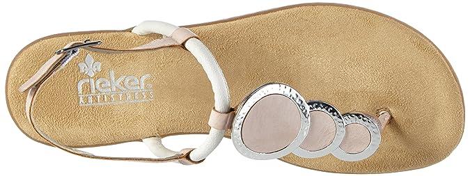 Rieker 64293 Women Flip Flop Damen Zehentrenner  Amazon.de  Schuhe    Handtaschen 8614d9eb23