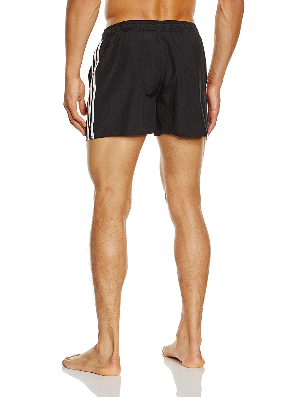 adidas Men's's Badeshorts 3 streifen Boxer badehose Swimming Shorts