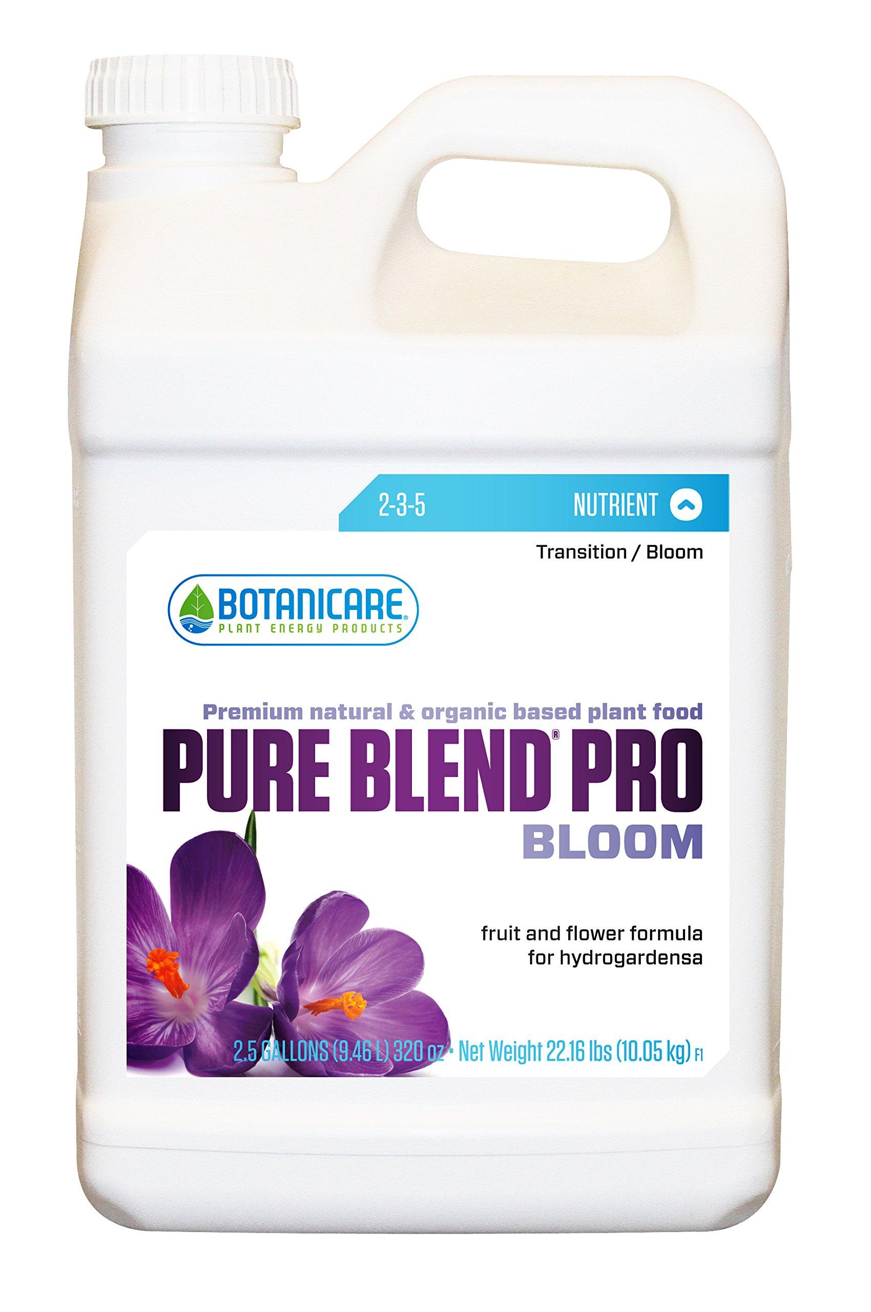 Botanicare PURE BLEND PRO Bloom Soil Nutrient 2-3-5 Formula, 2.5-Gallon (2-Pack)