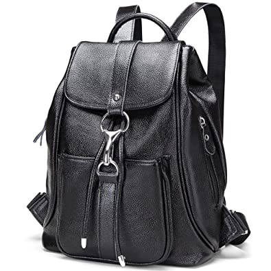 2e4eb13ff368 Amazon.com  Modoker Womens Leather Backpack Vintage Travel Backpack Purse  Anti Theft Schoolbag  Shoes