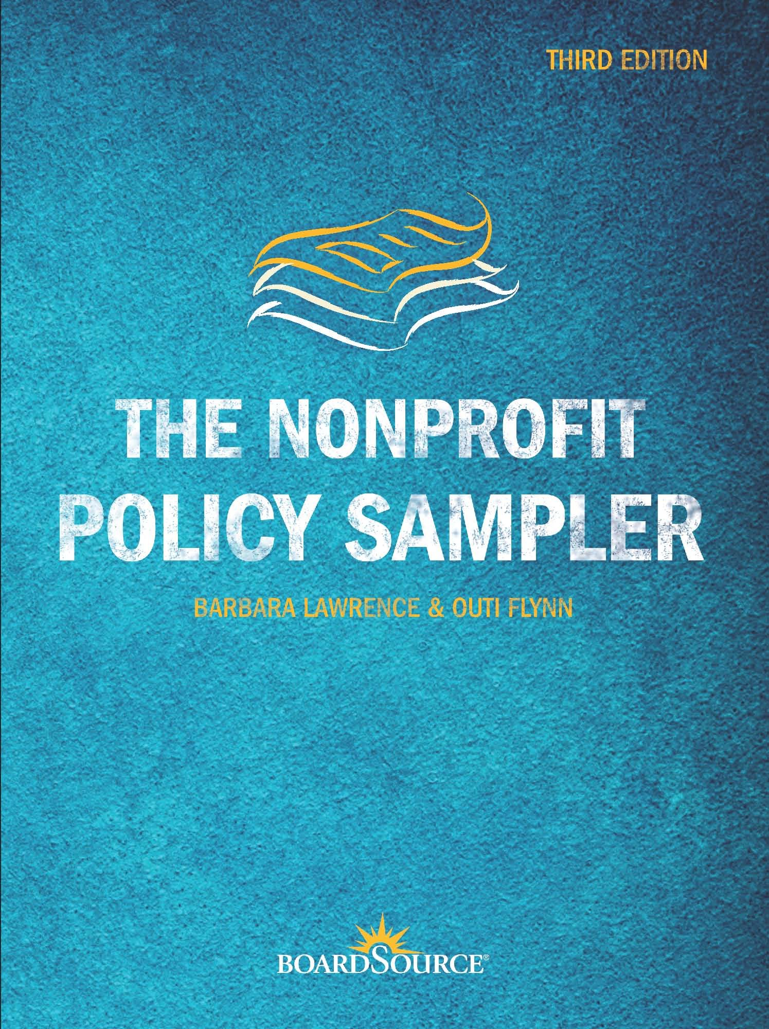 The Nonprofit Policy Sampler, Third Edition ebook
