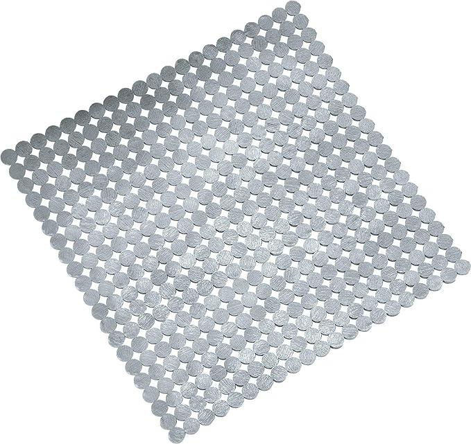 Silbergrau 55 x 55 x 3 cm Kleine Wolke Spitze Duscheinlage PVC Schaum