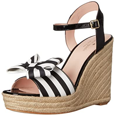 clearance order outlet real Kate Spade New York Bow Platform Wedges outlet store sale online free shipping eastbay FdoWyYt7y