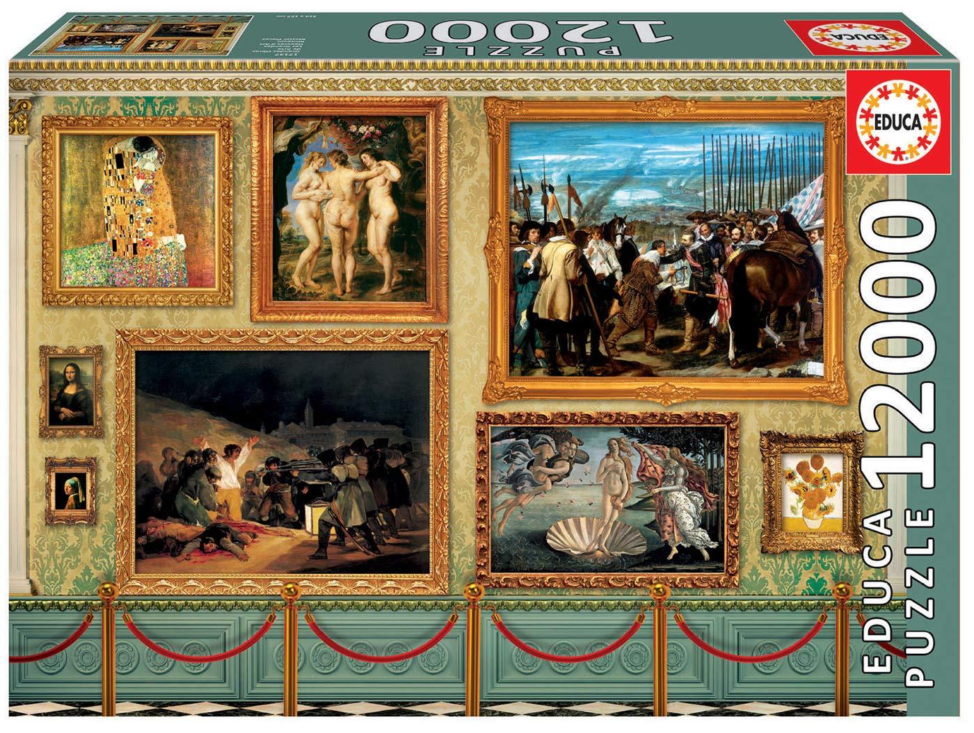"""Educa 17137.0 -""""12000 Museum Master Pieces"""" Puzzle"""