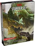 Dungeons & Dragons Starter Set: Fantasy D&D Roleplaying Game 5th Edition (RPG Boxed Game) Plus Additional Bonus Set of 7 Dice