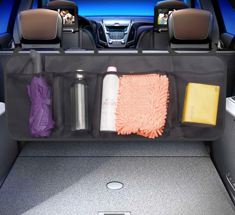 Car Trunk Storage >> Amazon Com Maxah Car Back Seat Organizer Universal Foldable Car