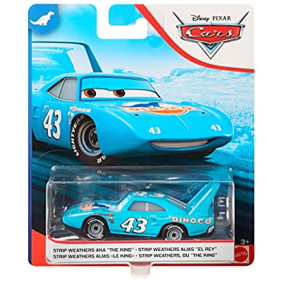 Disney/Pixar Cars Diecast The King Vehicle: Toys & Games