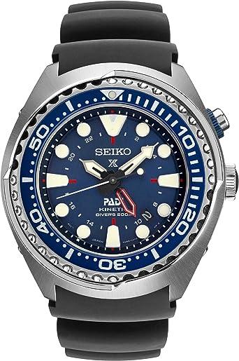 Seiko sun065 edición especial Padi Kinetic GMT Diver reloj por Seiko relojes