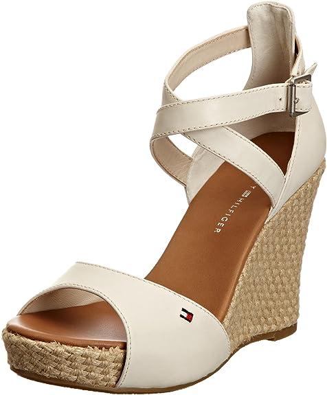 Tommy Hilfiger Capri 1, Alpargatas para Mujer, Blanco-Starfish, 6 UK: Amazon.es: Zapatos y complementos
