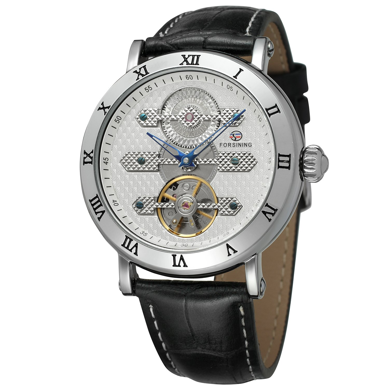 FORSININGメンズハイエンドブランド自動自動巻き本革バンドクラシック腕時計fsg9415 m3s1 B071937NS2