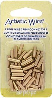 Artistic Wire A346BRC-052 Large Wire Crimp Connectors