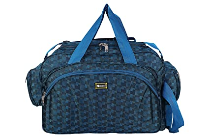 997ba27a08 Travel Duffel bags for men and women from N Choice (Blue)  Amazon.in ...