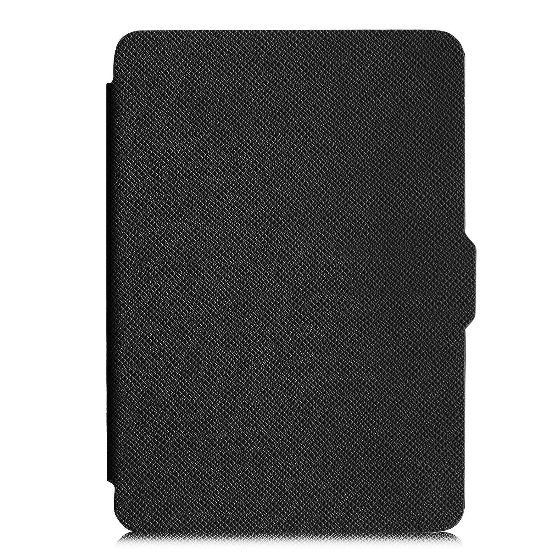 P/úrpura Fintie SlimShell Funda para Kindle Paperwhite La M/ás Delgada y Ligera Carcasa de Cuero Sint/ético con Funci/ón de Auto-Reposo//Activaci/ón No se adapta a 10./ª generaci/ón 2018