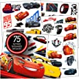 Cars Tattoos - 75 Assorted Cars 3 Temporary Tattoos