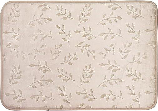 Aqua Cotton Medallion 17x24 And 20x32 in 2-Piece Bath Mat Carpet Shower Rug Set