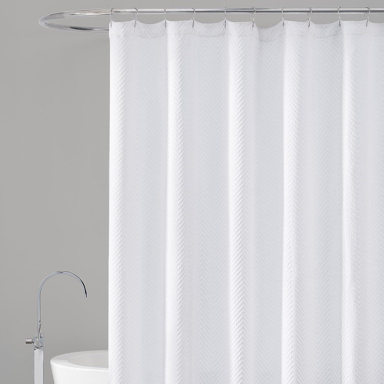 Amazon.com: LaMont Home Chevron Shower Curtain, 72x84\