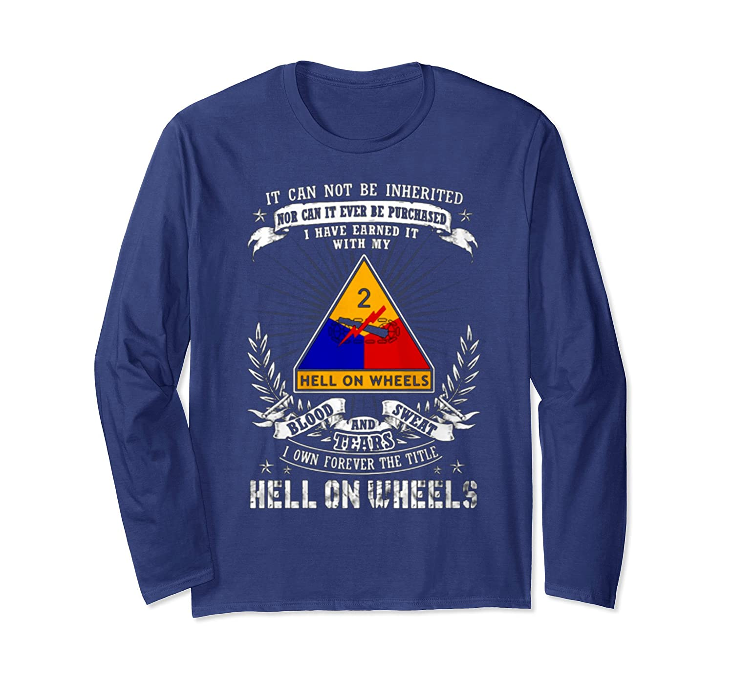 2nd Armored Division - Hell On Wheels Tshirt-mt