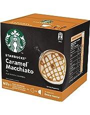 Starbucks Caramel Macchiato by NESCAFÉ Dolce Gusto Coffee Pods, Box of 6+6 Capsules, 127.8g (6 Serves)