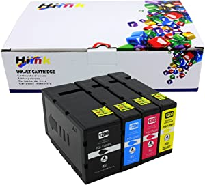 HIINK Compatible Ink Cartridges for Canon PGI-1200 PGI-1200XL use with MAXIFY MB2020 MB2320 MB2120 MB2720(Black, Cyan, Magenta, Yellow, 4-Pack)
