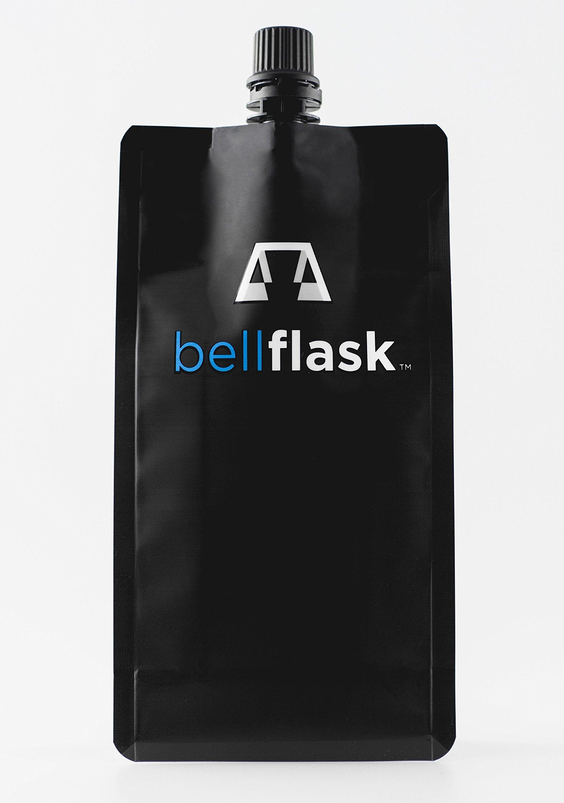 BellFlask - 12 oz. Concealable, Flexible, Reusable, Best, Metal-Free Pack of Five Flasks by BellFlask
