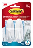 Command Hooks with Water Resistant Strips - Medium