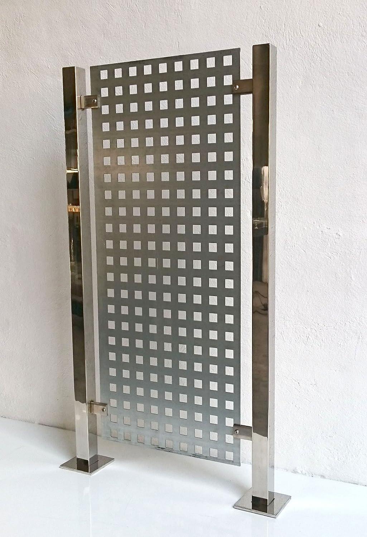 Chapa perforada galvanizada - 90 x 100cm (Espesor 1,5mm ...