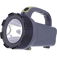 EMOS Oplaadbare LED Handlamp/Zaklamp/Lantaarn/Batterij Lamp, Werk Licht 300 lm, 370 m Lichtbreedte, 24 uur looptijd…